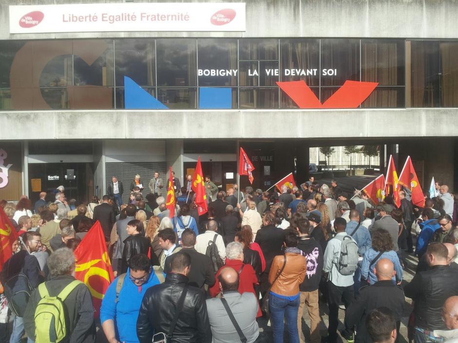 Agressions de militants communistes à Bobigny